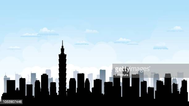 Taipei Skyline (All Buildings Are Complete and Moveable)