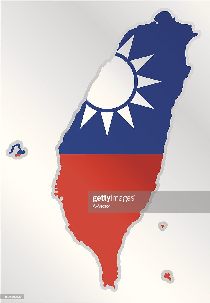 Taiwan : stock illustration