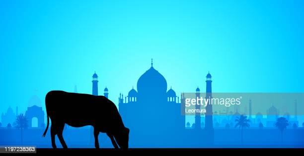 泰姬陵(所有建築都是完整和可移動的) - agra jama masjid mosque 幅插畫檔、美工圖案、卡通及圖標