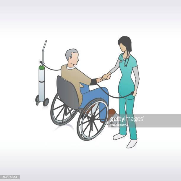 ilustrações de stock, clip art, desenhos animados e ícones de a ilustração da pressão arterial - mathisworks