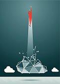 Taking Off, Breaking New Ground, Innovation, Rocket, Big Data