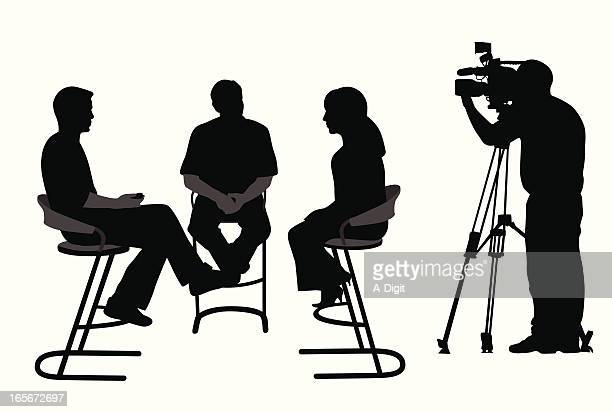 Taking Video Vector Silhouette