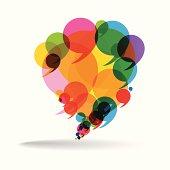 Talk Balloon Abstract