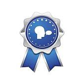 Talk Blue Vector Icon Design