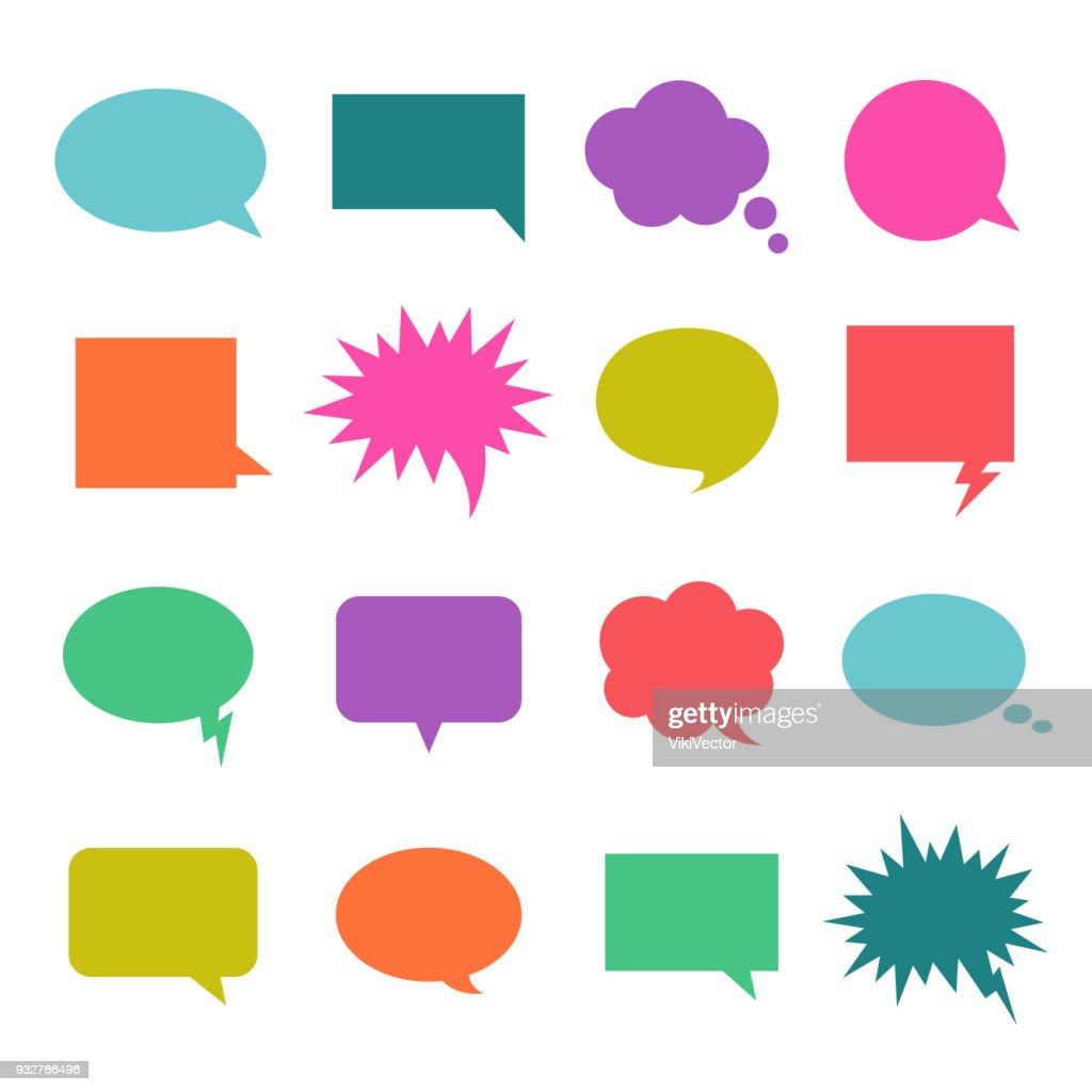 Talk color bubble