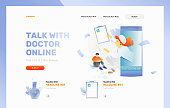 Talk with Doctor Online Frontpage Template