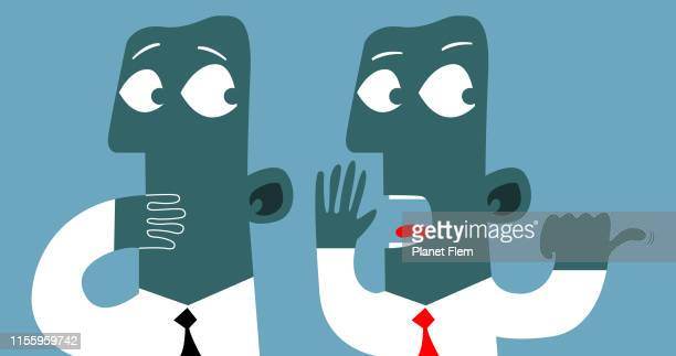 talking in my back - respect stock illustrations