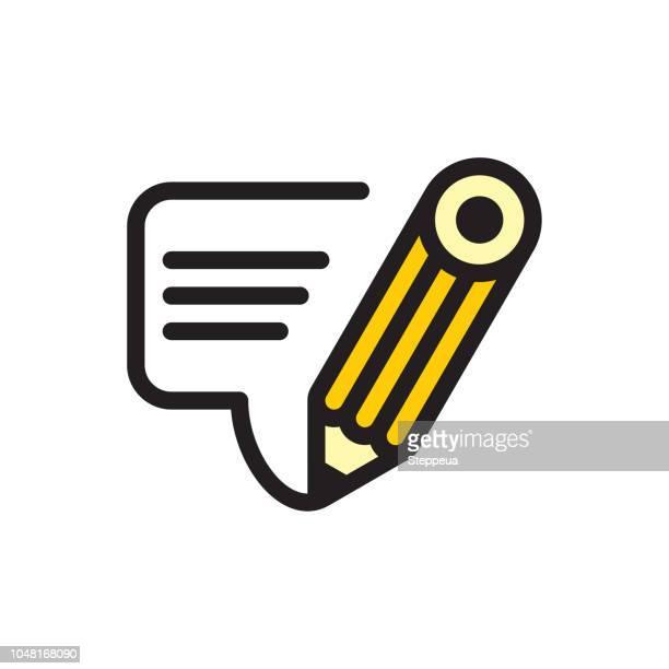 鉛筆の話 - 鉛筆点のイラスト素材/クリップアート素材/マンガ素材/アイコン素材