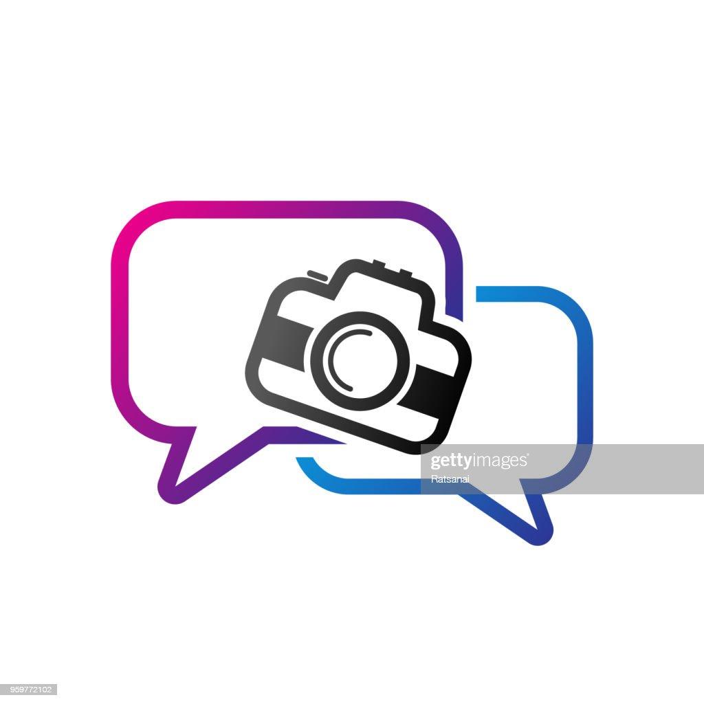 Fotografie im Gespräch : Stock-Illustration
