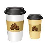 Tall Coffee Cup