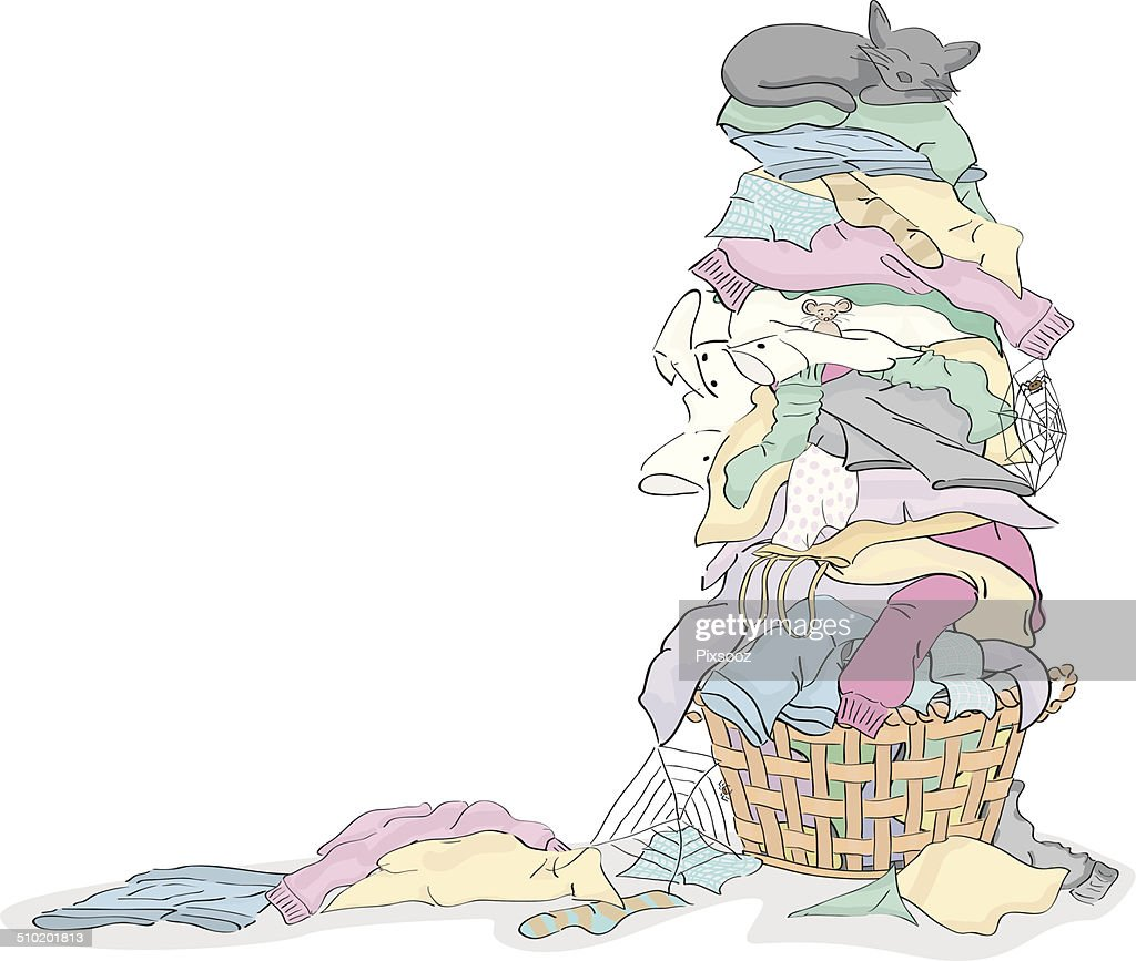 free laundry pile clipart and vector graphics clipart me rh clipart me Cartoon Stacks of Laundry Cartoon Stacks of Laundry