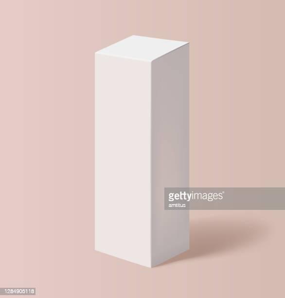 tall product box - slim stock illustrations
