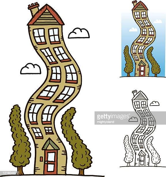 Tall wobbly house