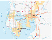 Tampa bay area road map