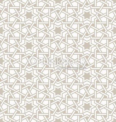 verheddert muster auf traditionelle arabische vektorgrafik