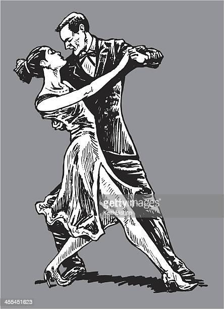 60 Hochwertige Tanzendes Paar Stock-Vektoren und -Grafiken ...
