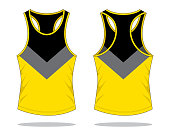 Tank Top Design Vector