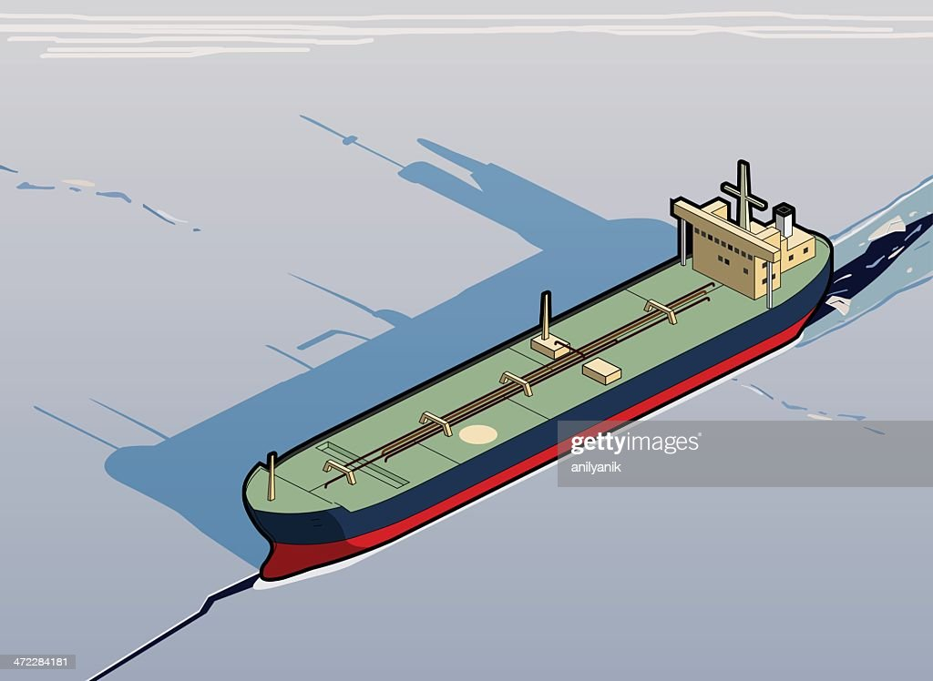 tanker stuck in ice