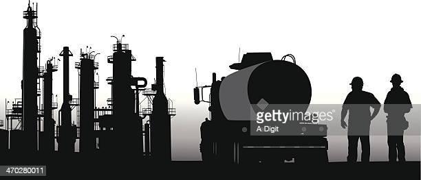 tanker - oil tanker stock illustrations, clip art, cartoons, & icons