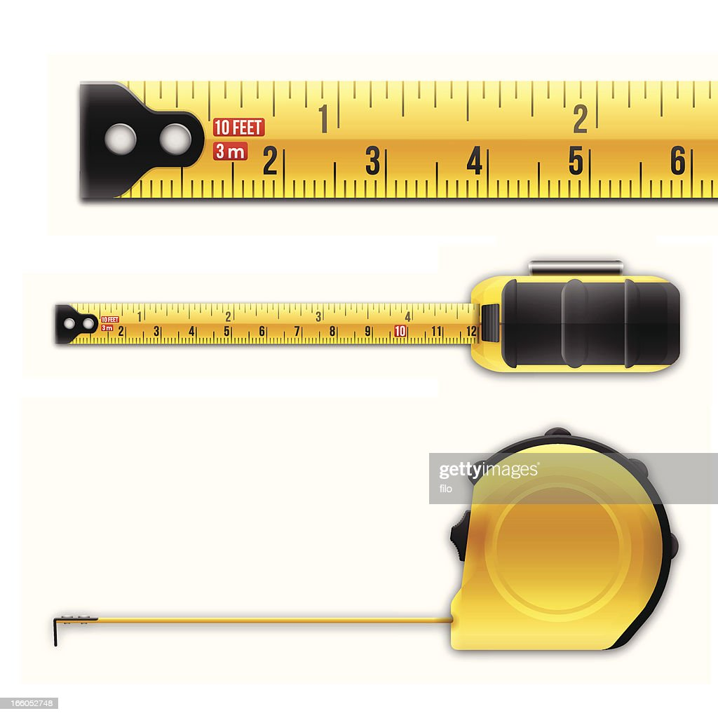 Tape Measure : Stock Illustration