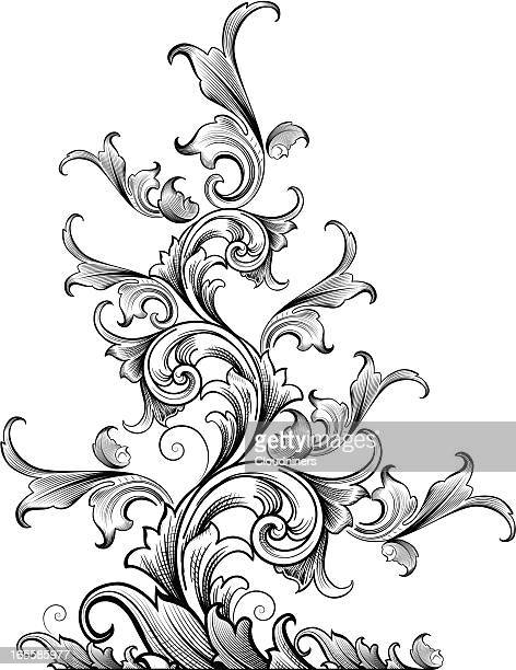 Tapering Acanthus