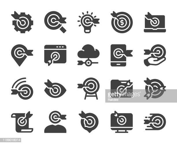 target market - icons - fasting activity stock illustrations, clip art, cartoons, & icons