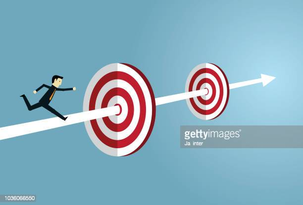 target success - incentive stock illustrations, clip art, cartoons, & icons