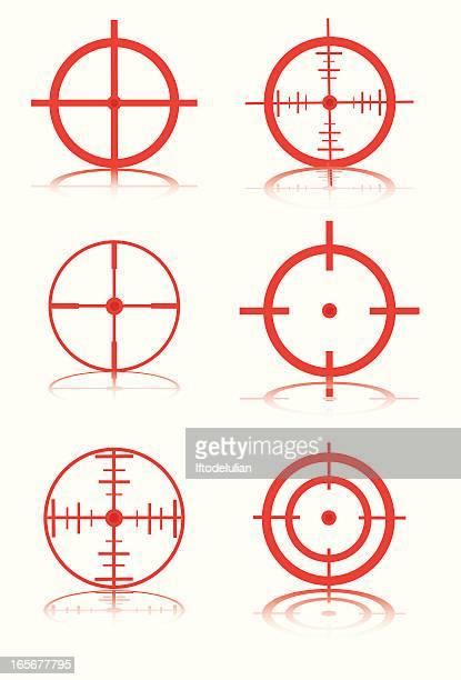target - machine gun stock illustrations, clip art, cartoons, & icons