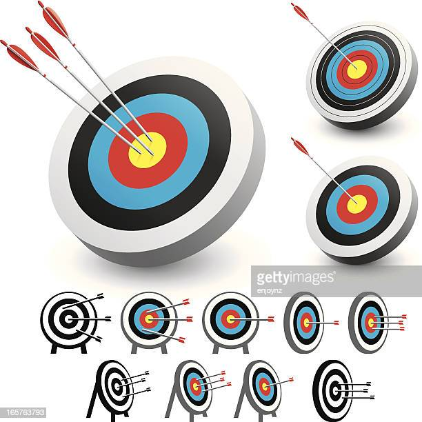 target - accuracy stock illustrations