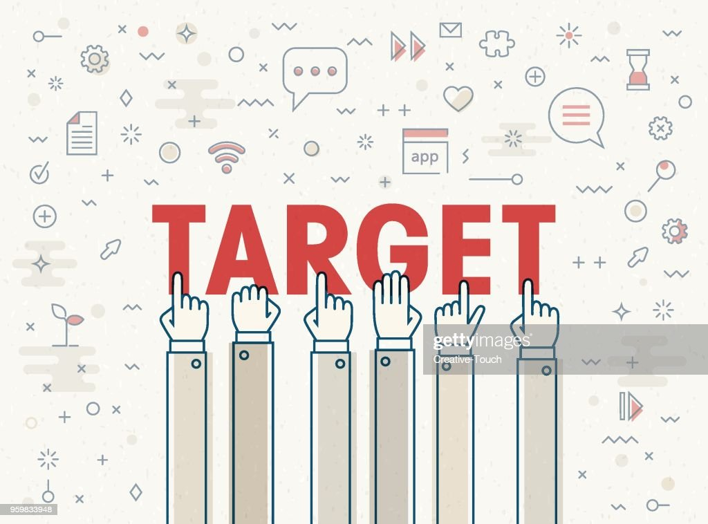 Target : Stock-Illustration