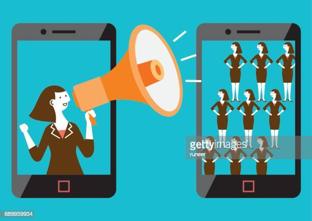 Targeted Mobile Marketing (Female) | New Business Concept