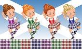 Tartan Day - Scottish dance