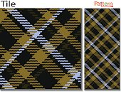 Tartan type plaid pattern vector which is looks alike lumberjack plaid and buffalo type check pattern it is seamless plaid pattern and checkered texture pattern  textile fabric swatch which is diagonal plaid pattern like Scottish plaid fashion cloth for p