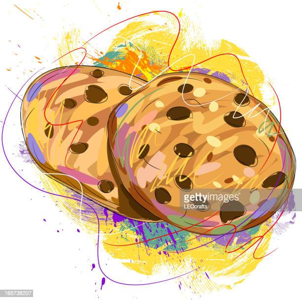 tasty cookies - cookie stock illustrations, clip art, cartoons, & icons