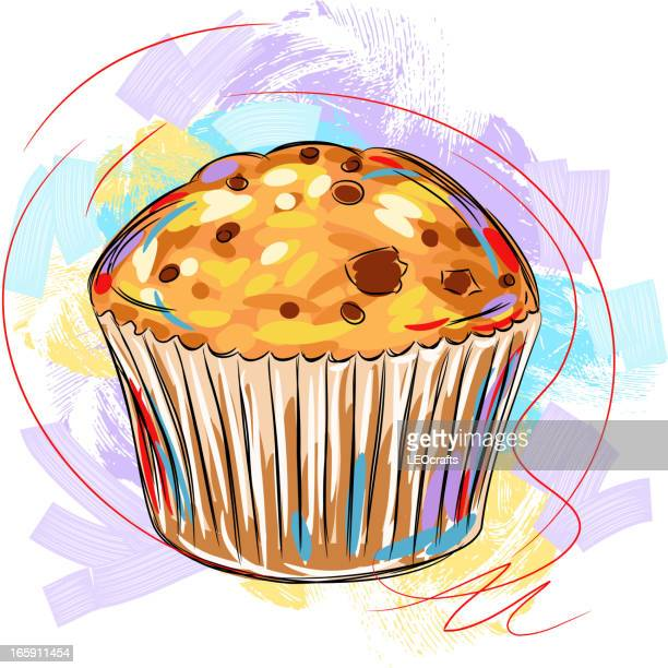 tasty muffin - muffin stock illustrations, clip art, cartoons, & icons
