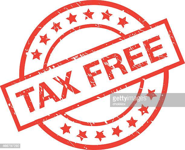 tax free label - duty free stock illustrations