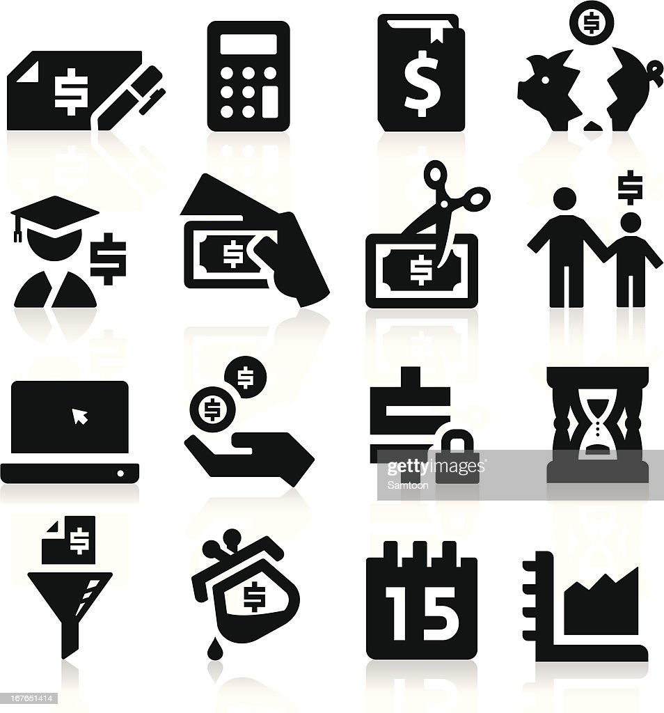 Tax Vector Icons