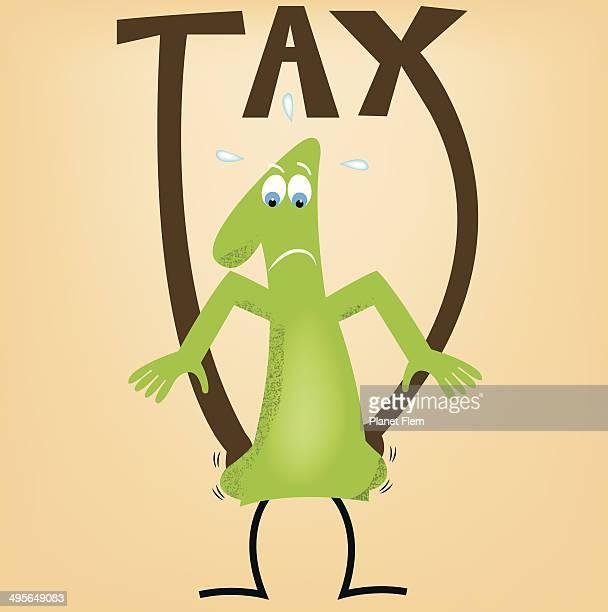 ilustraciones, imágenes clip art, dibujos animados e iconos de stock de de impuestos - impuesto sobre la renta