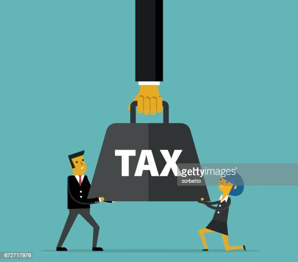 tax - weight stock illustrations, clip art, cartoons, & icons