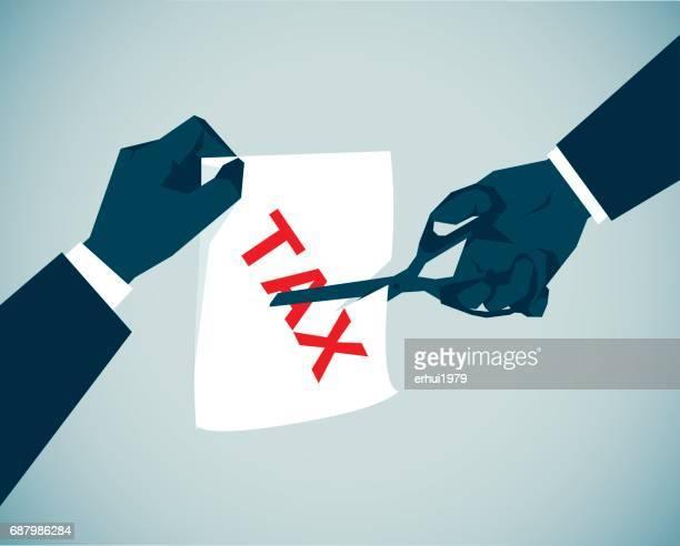 tax - cutting stock illustrations