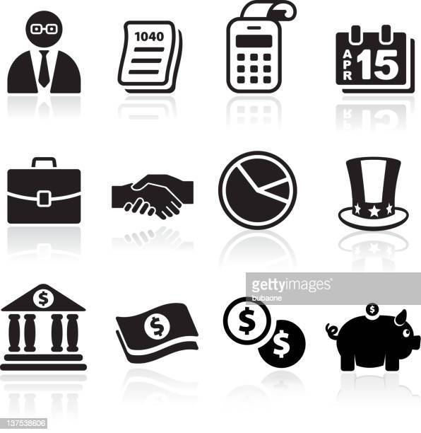 taxes and accounting royalty free vector arts