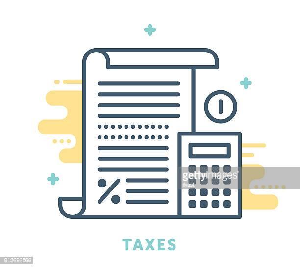 Taxes Symbol