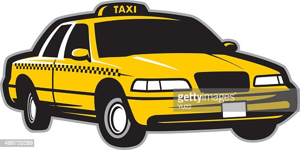 Taxi Cab Vector Art Getty Images