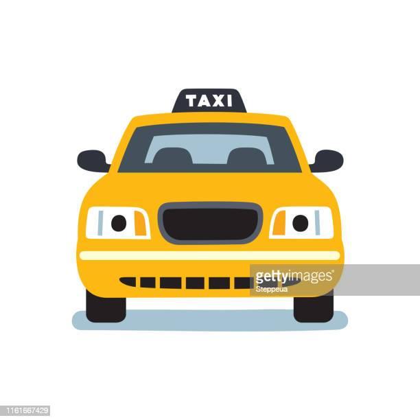 taxi car - taxi stock illustrations