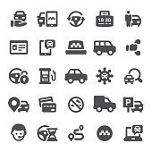 Taxi & Carsharing Icons