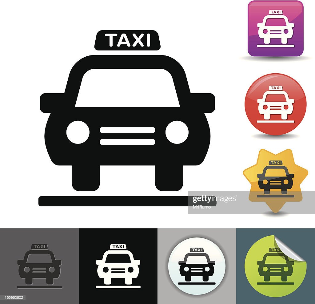 Taxi icon | solicosi series