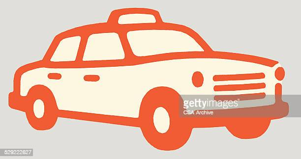 taxicab - taxi stock illustrations, clip art, cartoons, & icons