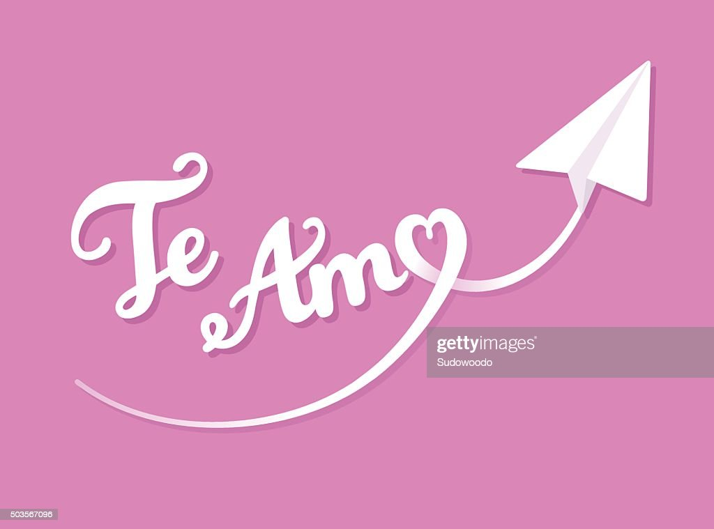Te Amo greeting card