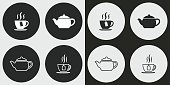 Tea icon set.