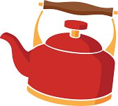 tea kettle in color